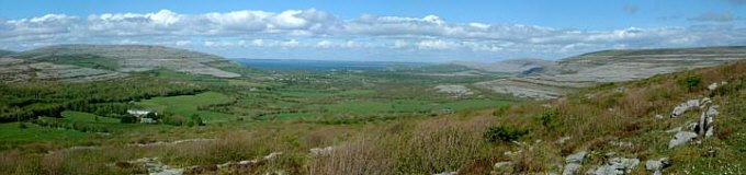Galway Bay from Corkscrew Hill