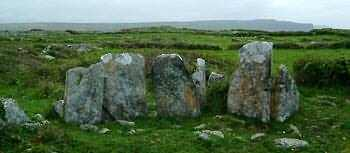 One of the Stone Circles around Doolin
